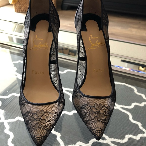 e78b929934 Christian Louboutin Shoes - AUTHENTIC Christian Louboutin Pigalle Lace